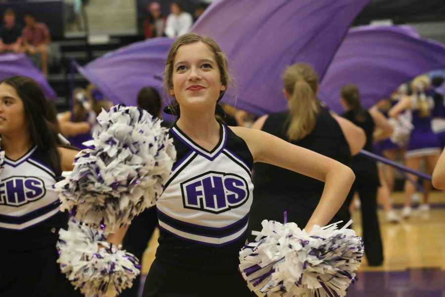Dancin' Dawgs compete in local competitions