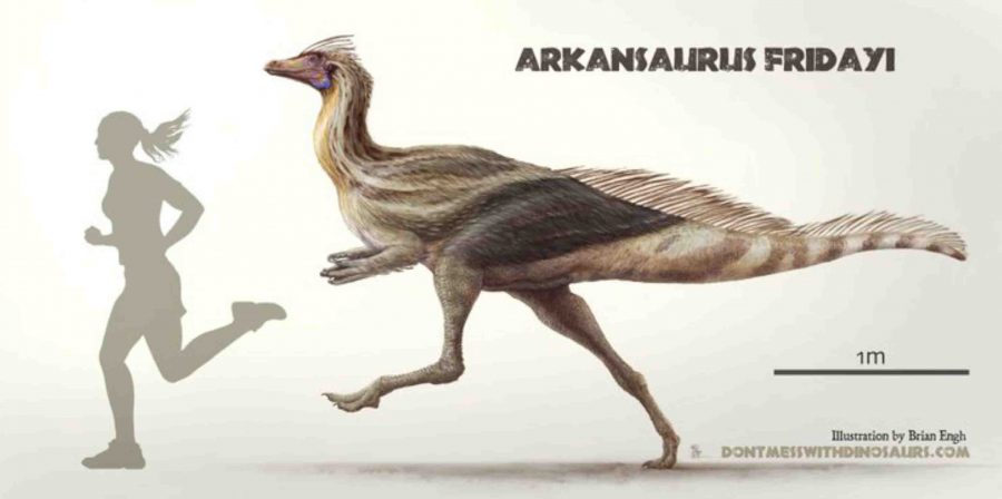 Arkansas State dinosaur