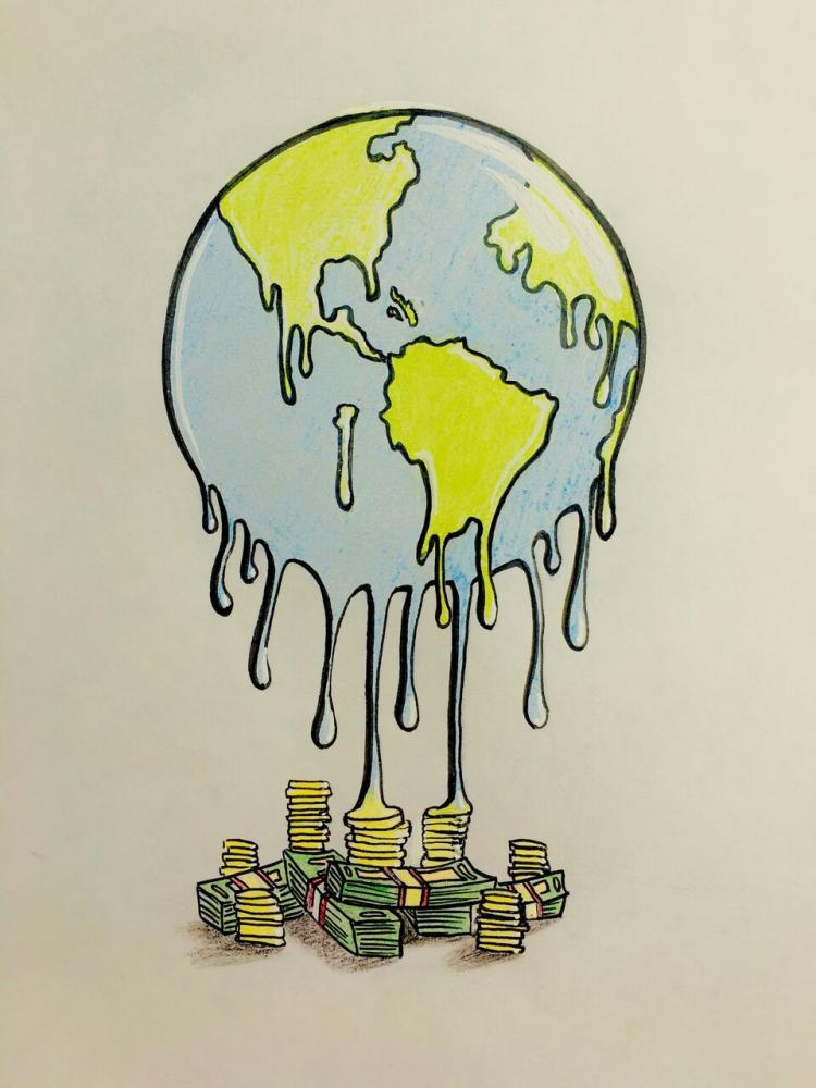 Money makes the world melt