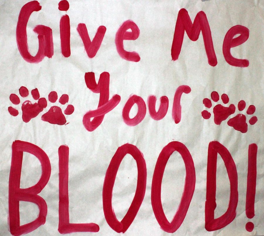 GIVE ME YOUR BLOOD on December 7th.