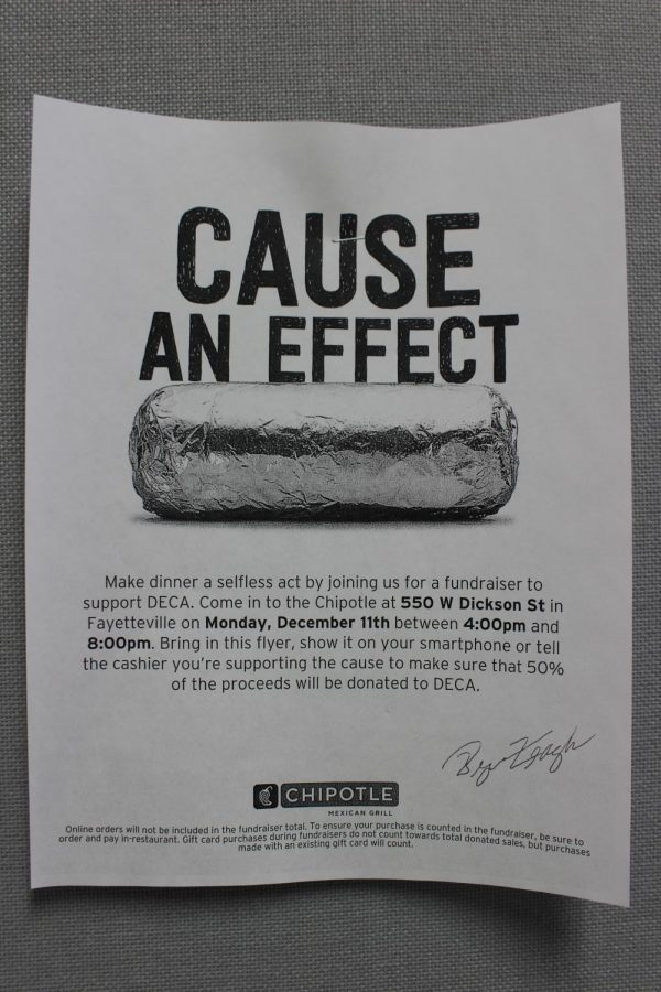 DECA Fundraiser at Chipotle