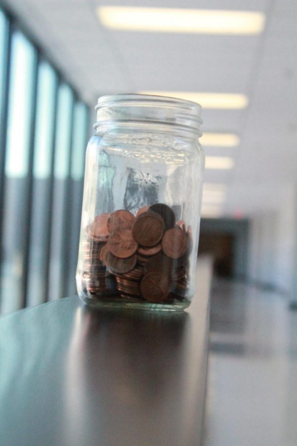 Saving each penny for a smart future investment