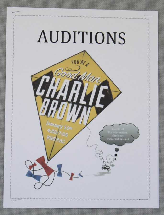 Auditions for Charlie Brown