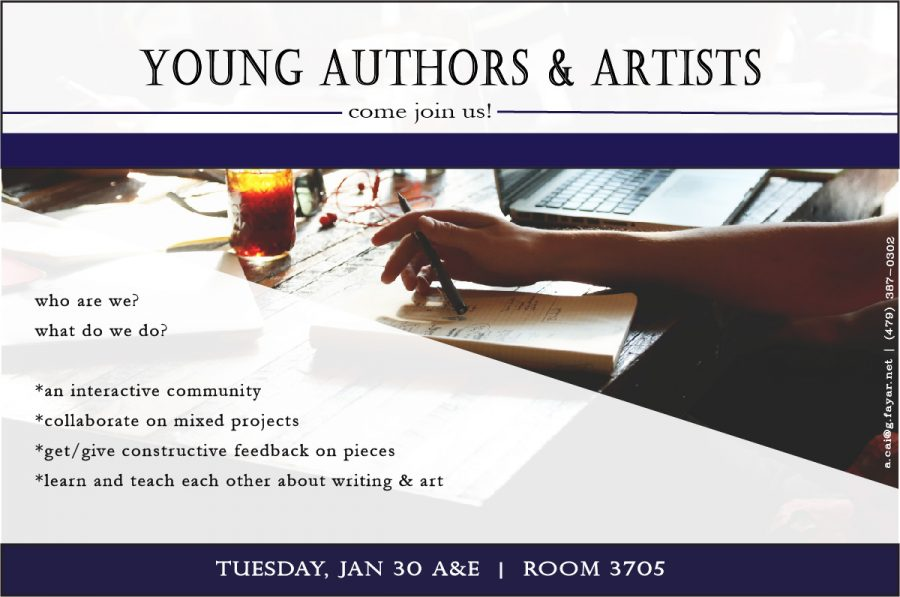 Young Authors & Artists Poster