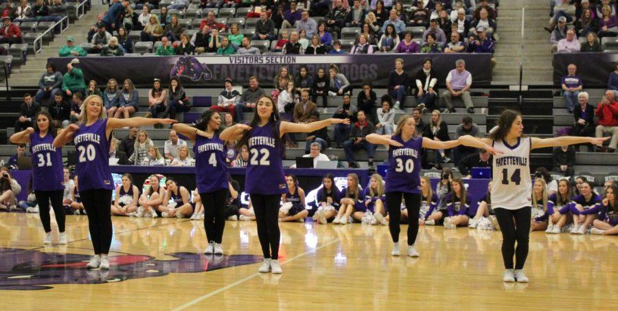 FHS Senior Dance team.