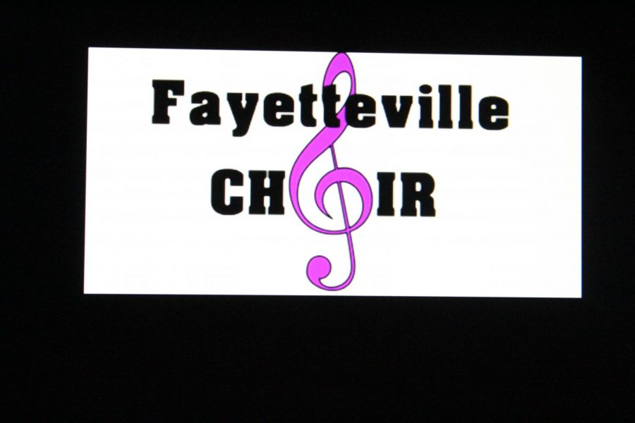 The logo of the FHS choir. located on the FHS choir website