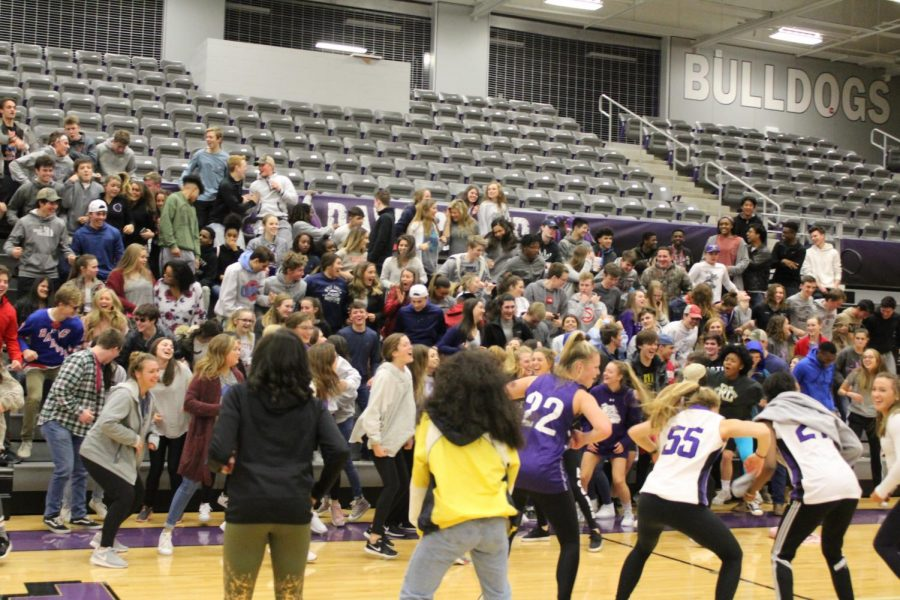 FHS's very own Dawg crew and students participate in