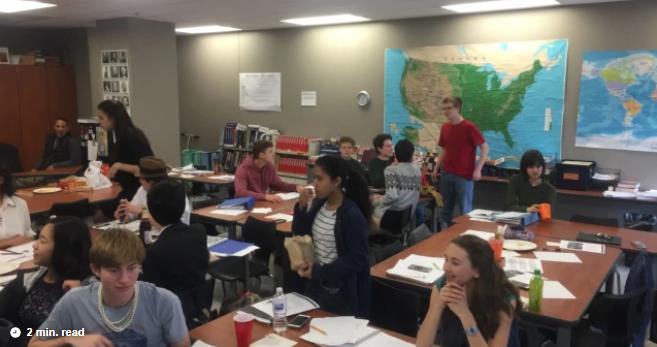 Sophomores present Twenties project in AP Block