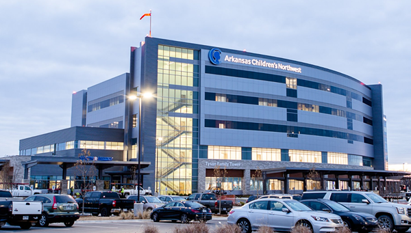 Arkansas Children's Hospital Northwest recently opened in Springdale. The facility will allow children in NWA to receive medical care without travelling to Little Rock.  Photo credit: Arkansas Times