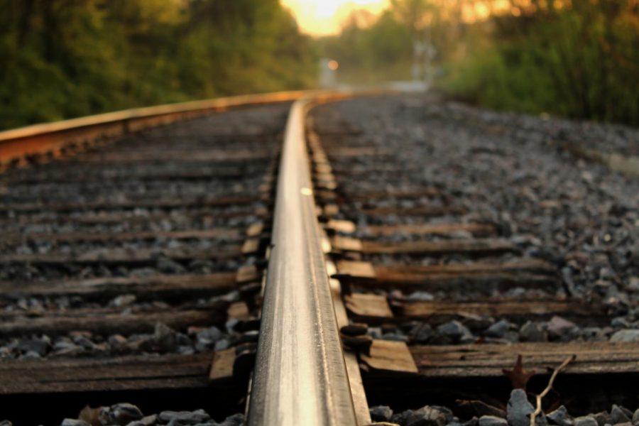 Taken on the train tracks above MLK Blvd.