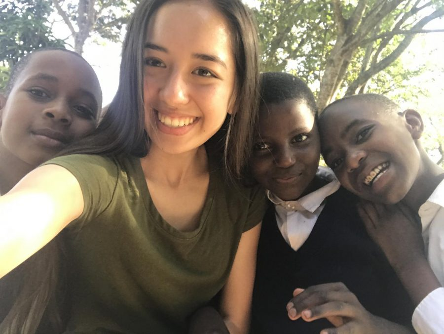 Student travels on a safari trip, promotes passions in service, learning