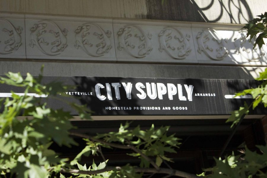 Not only is it popular with the locals but it's also a hot spot for visitors to Fayetteville, City Supply draws attention to everyone with their personalized items that fit the city of Fayetteville perfectly.
