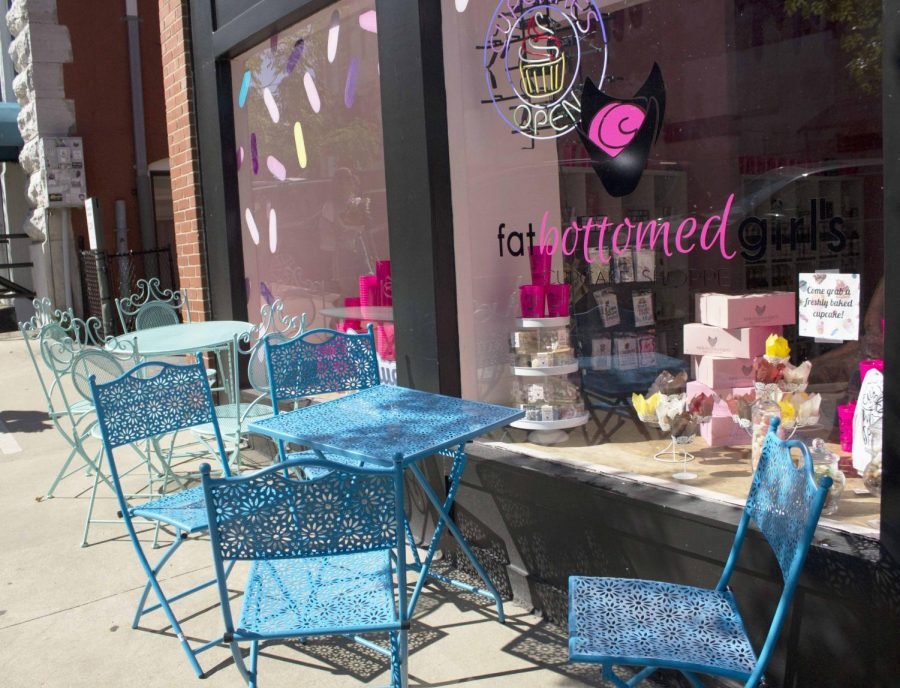 Newly opened, Fat Bottomed Girls is booming with business. A hot spot for a sweet treat, they have all sorts of goodies to satisfy your sweet tooth.