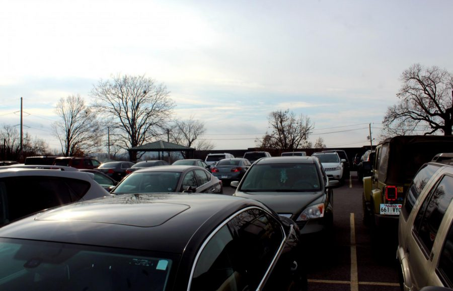 The overcrowded student parking lot has been a problem now for a while. The off-site parking might be  shut down because of city regulations.