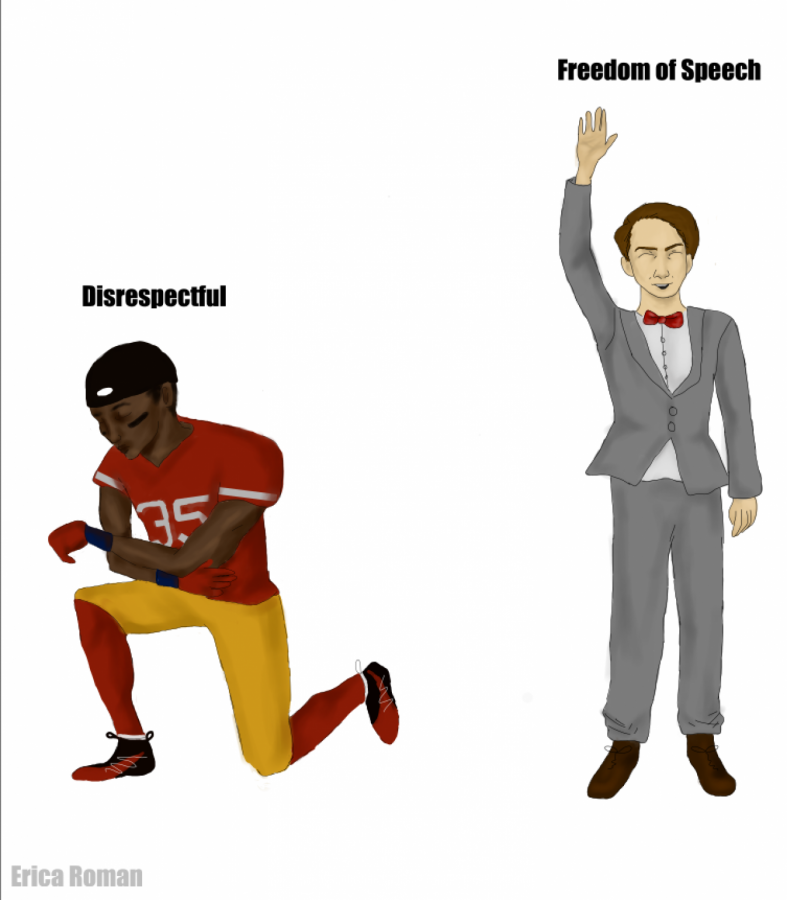 Two different views of Freedom of Speech