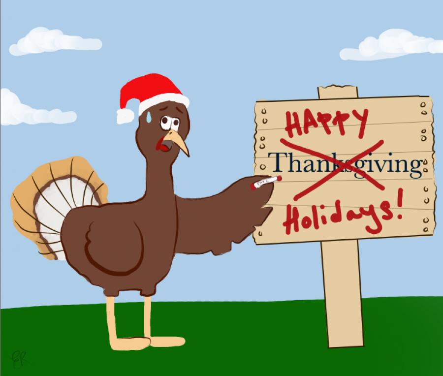 A turkeys thanksgiving