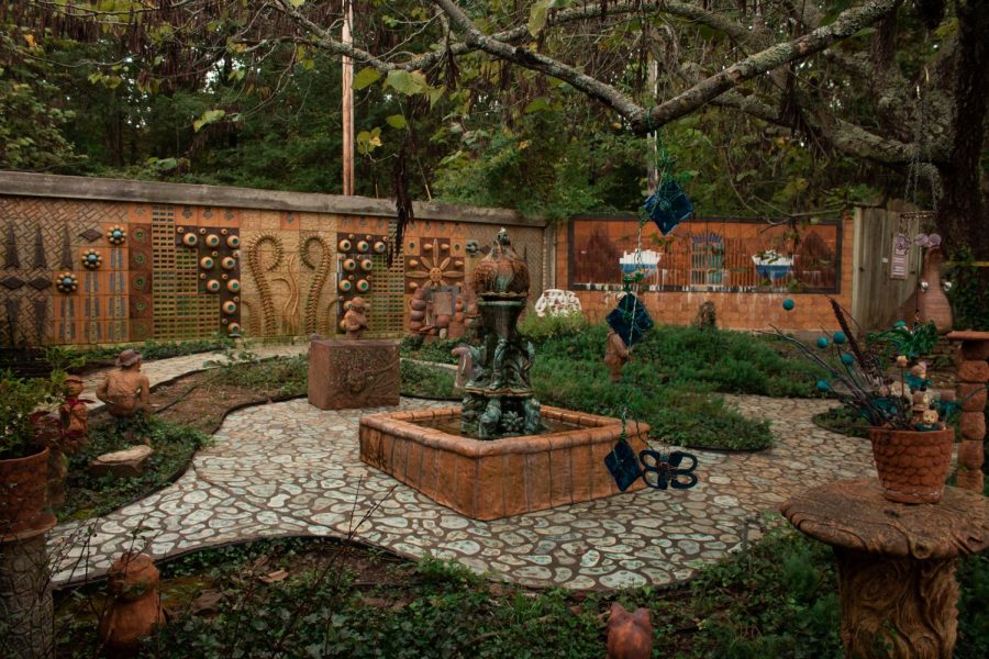 The art park is built on six acres featuring sculptures, murals, and fountains from hundreds of artists. Terra Studios originally opened as a glass and pottery studio for local artists, and is now home to a wide array of pieces from Northwest Arkansas artists.
