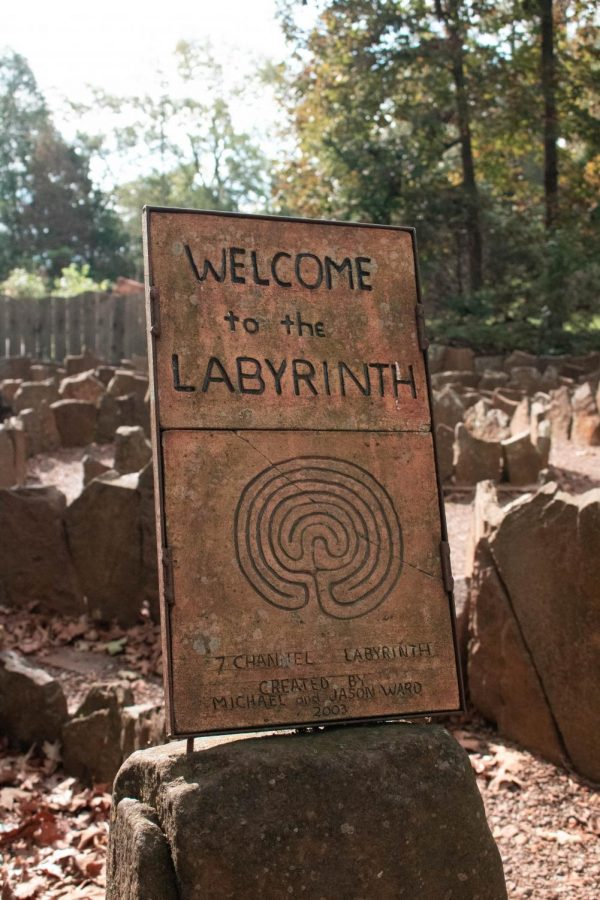 One of their most popular attractions, the Studio's classical 7-channel outdoor labyrinth is often used for meditation and walking prayer; and is a common destination for visiting groups and families.