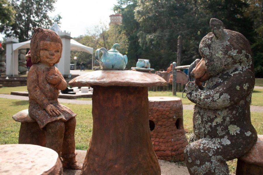 While Terra Studios has activities and art that can be especially captivating to children, the whimsy nature of the grounds attract visitors of all ages.