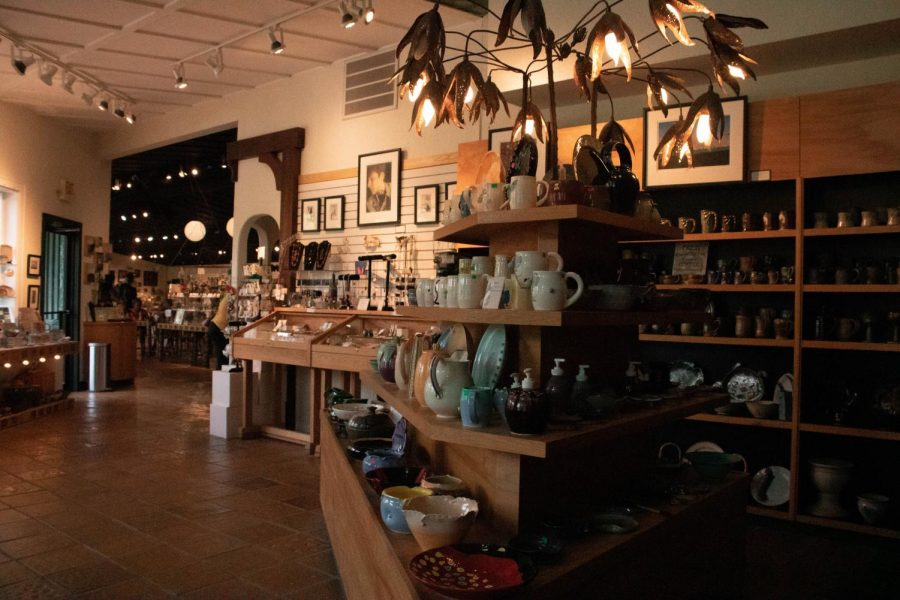The Studio's expansive Gallery boasts hundreds of arts and crafts available for purchase. Buying from their gallery helps to maintain the art park, serve patrons, and launch Terra's new initiatives.