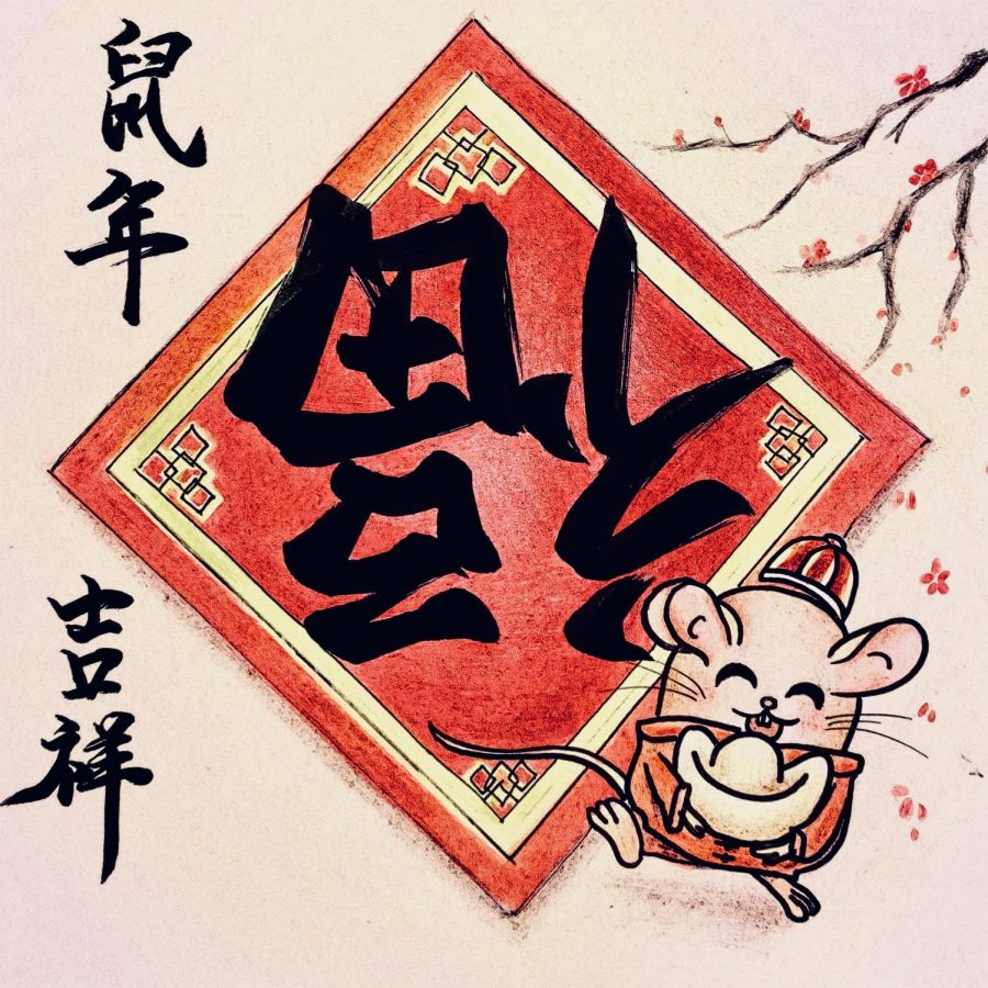 Happy Chinese New Year! Its celebrated from January 25th to February 8th.