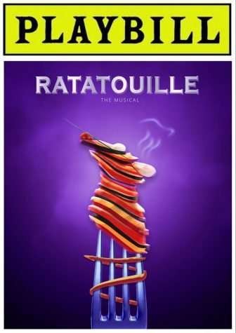 Playbill for Ratatouille: The TikTok musical, designed by Jess Siswick